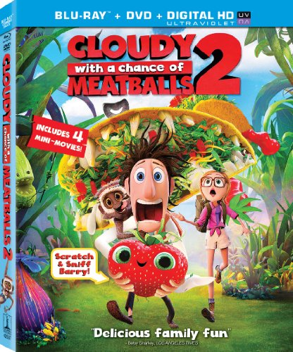 Cloudy  a Chance of Meatballs 2 (Two Disc Combo: