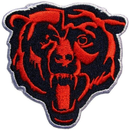 Chicago Bears Hat Logo Jersey Iron Patch at Amazon.com