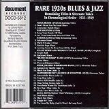 Rare 1920's Blues & Jazz 1923-1929