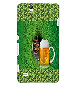 PrintDhaba Quote D-6012 Back Case Cover for SONY XPERIA C4 (Multi-Coloured)