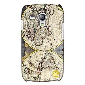 Designer Samsung S3 Mini Case Cover Nutcase-Old Vintage Maps Of The Globe