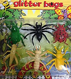 Glitter Bugs - 6 pack of creatures