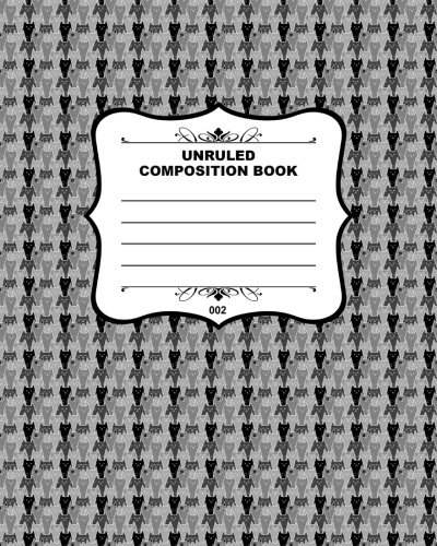 Unruled Composition Book 002: Fusello Notebooks - A Top Quality Brand