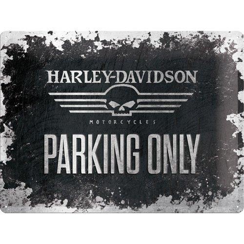 enseigne-en-metal-harley-davidson-skull-parking-only-plaque-metal-30-x-40-cm