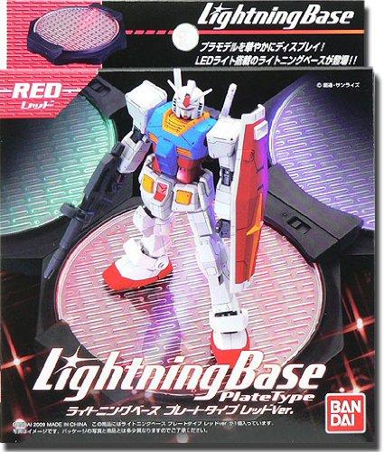 Gundam Lightning Base Plate - Red