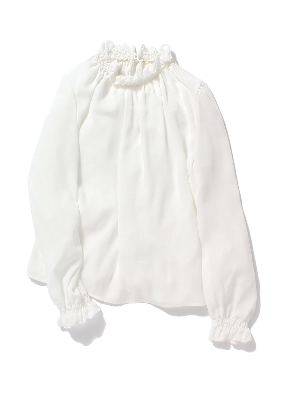 Amazon.co.jp: (レイビームス) Ray BEAMS / ジョーゼット ギャザーブラウス 63110093747 オフホワイト ONE SIZE: 服&ファッション小物通販