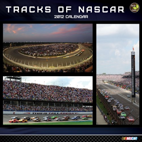 2012 Tracks of Nascar Wall Calendar