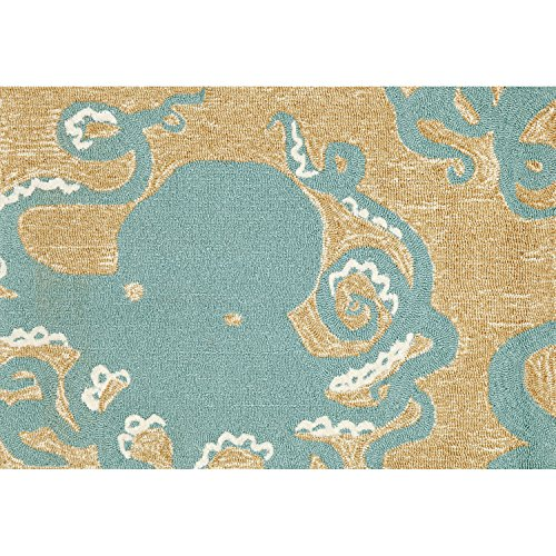 Liora Manne FT134A50604 Whimsy Sea Queen Rug, 30