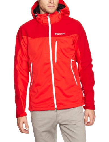Marmot Super Hero Men's Softshell Jacket - Rocket Red/Team Red, Large