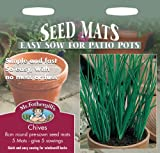 Mr. Fothergill's 13055 5 Count Chives Seed Mat