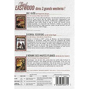 Clint Eastwood - Joe Kidd + Sierra Torride + L'homme des hautes plaines
