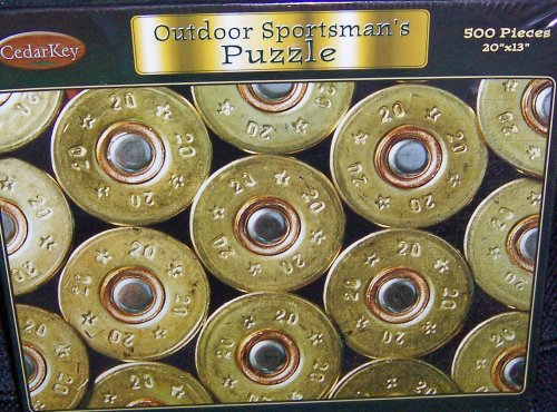 Outdoor Sportsman's Shotgun Shells 500 Piece Puzzle