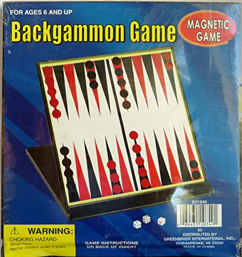 Magnetic Backgammon Game - 1