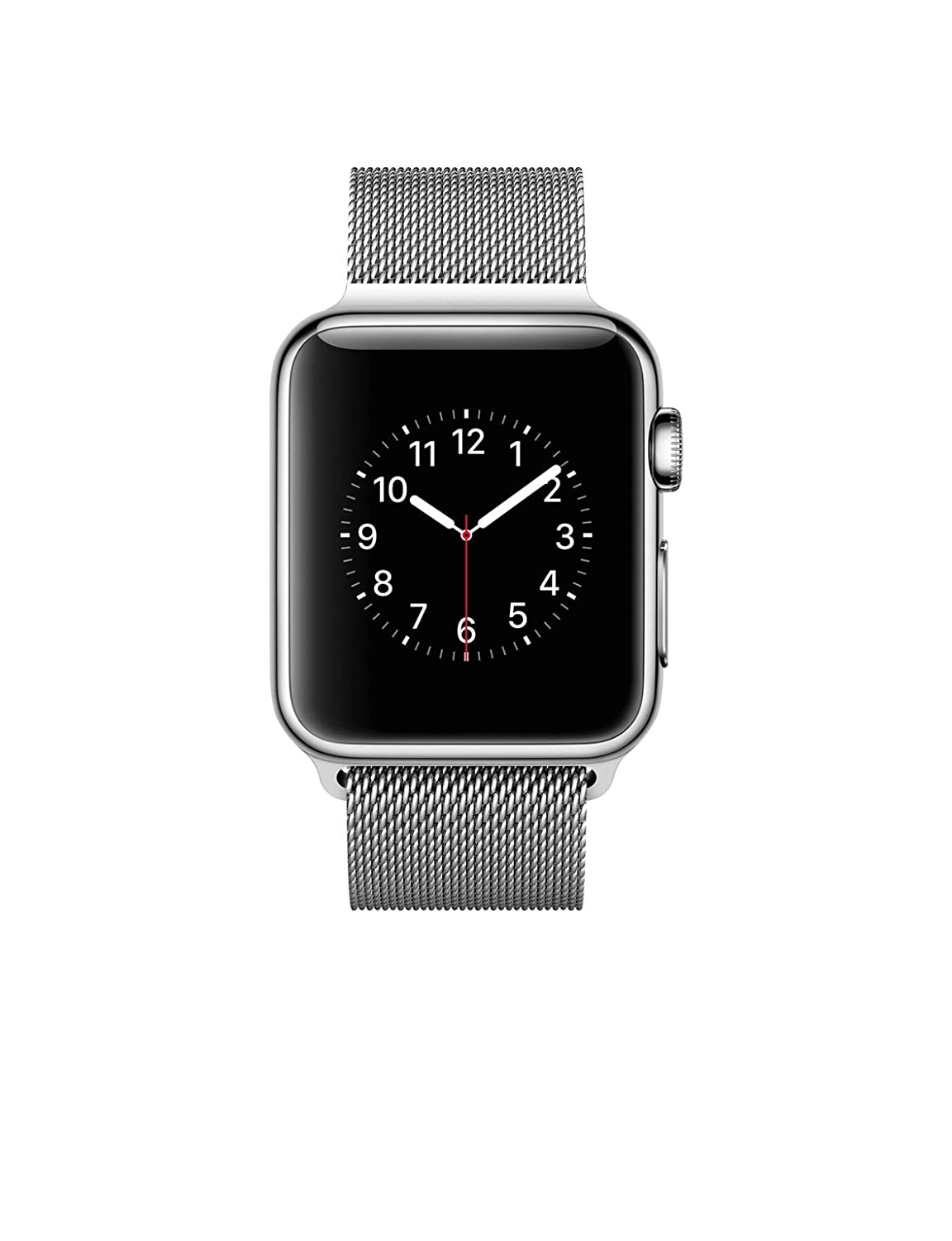 Stainless Steel Case with Milanese Loop (38mm)