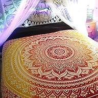BIG Mandala Hippie Tapestry, Hippie W…