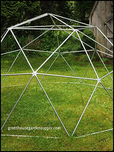 GEODESIC-DOME-16-Ft-Frame-Only-Greenhouse-for-Aquaponics