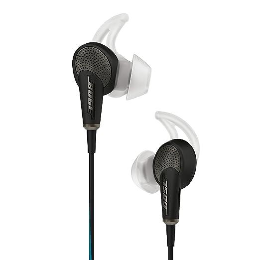 Bose ® QuietComfort ® 20 Ecouteurs à réduction de bruits pour appareils Apple ® - Noir