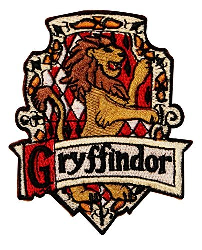Harry Potter Gryffindor Embroidered Chest Logo UK Patch by Main Street 24/7