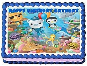 Edible Cake Images Octonauts : Amazon.com: Octonauts Edible Image Cake Topper - 1/4 Sheet ...