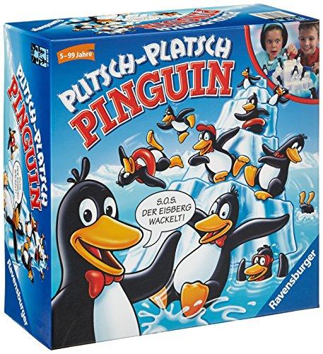 Ravensburger Plitsch-Platsch Pinguin - Juego de tablero (Niños)
