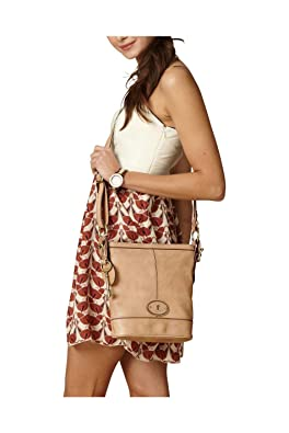 fb58a9aead80b Now the price for click the link below to check it. Fossil Tasche  Handtasche Damentsche VRI TOP ZIP TAN ZB5186231.