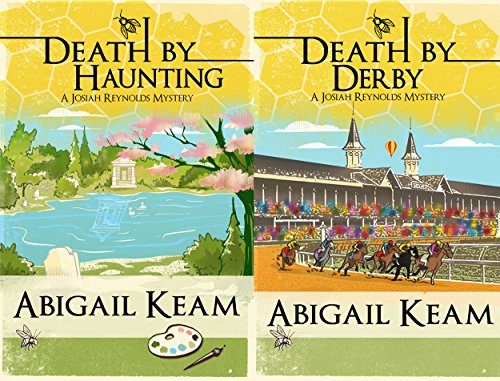 Josiah Reynolds Mysteries Box Set 3: Death By Haunting 7, Death By Derby 8