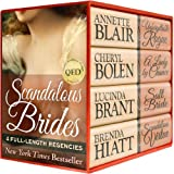 Scandalous Brides: Four Bestselling Full-Length Regency Novels (English Edition)