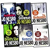 Jo Nesbo 6 Books Collection Set Pack RRP 47.94 (Headhunters, The Redeemer, The Snowman, Nemesis, The Devils Star, The Redbreast) Jo Nesbo