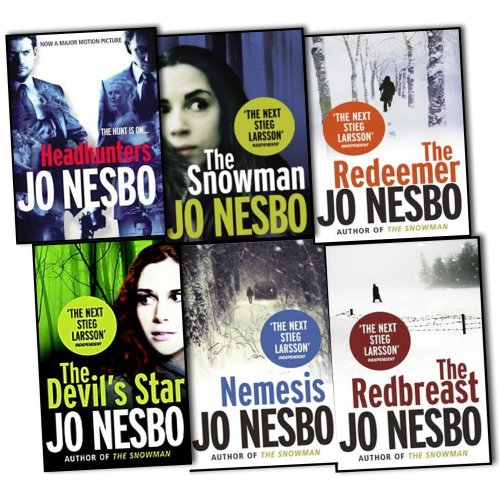 Jo Nesbo 6 Books Collection Set Pack RRP 47.94 (Headhunters, The Redeemer, Th...