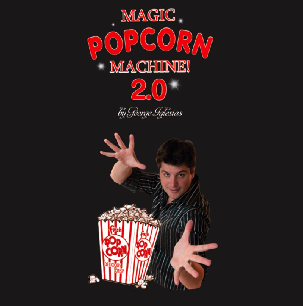 Popcorn 2.0 (with DVD) by Twister Magic - Tricks