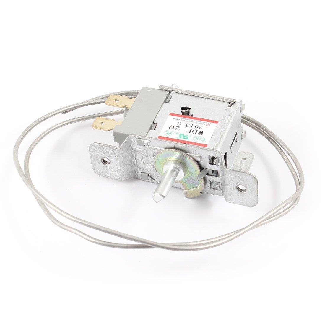 TOOGOO(R) AC 220V 6A 2 Pin Freezer Refrigerator Thermostat WPF-20