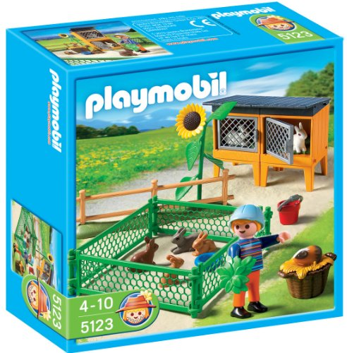 Playmobil Bunny Hutch front-1013547