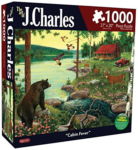 Karmin International J. Charles Cabin Fever Puzzle (1000-Piece)