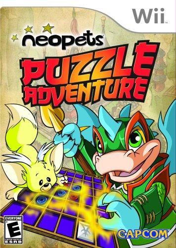Neopets Puzzle Adventure - Nintendo Wii - 1