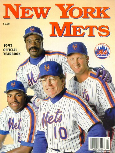 New York Mets Official Yearbook 1992 at Amazon.com