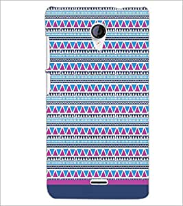 PrintDhaba Tribal pattern D-1756 Back Case Cover for MICROMAX A106 UNITE 2 (Multi-Coloured)