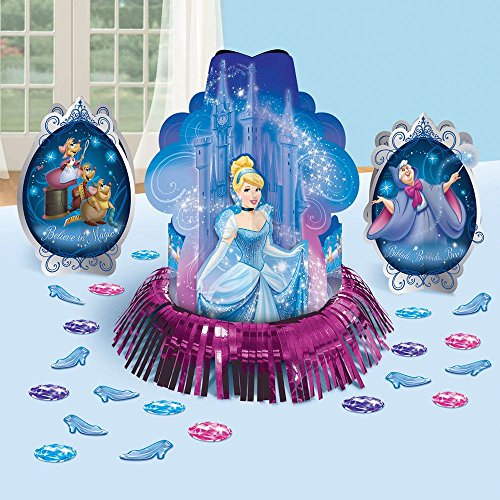 Cinderella 'Sparkle' Table Decorating Kit (23pc) - 1