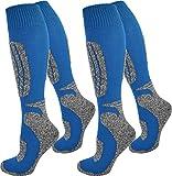 2 Paar normani® Thermo Ski-Socke, atmungsaktiv und schützend