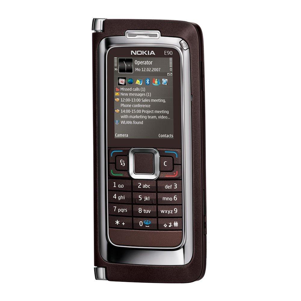 Nokia E90 Smartphone UMTS Handy mokka ohne Branding  Bewertungen und Beschreibung