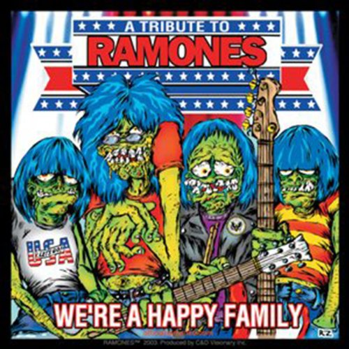 Licenses Products Ramones Happy Family Sticker