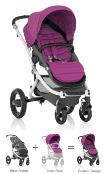 Britax Affinity Stroller Cool Berry Color Pack