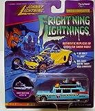 Frightning Lightning Ecto 1-A Ghostbusters Diecast Car Aqua Blue