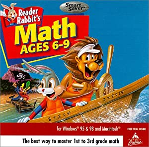 Reader Rabbit Math Adventure Ages 6-9  (Jewel Case)  [OLD VERSION]