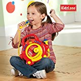 Kids Portable Sing Along CD Player with 2 Microphones