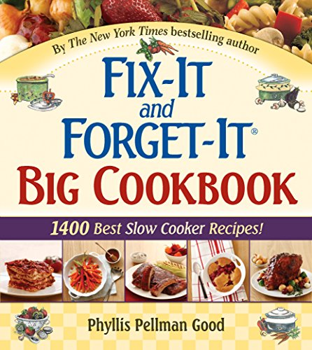 Fix-It and Forget-It Big Cookbook: 1400 Best Slow Cooker Recipes! (Crock Pot Recipes Kindle compare prices)