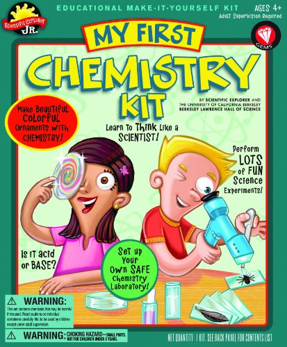 Poof-Slinky 0Sa508 Scientific Explorer My First Chemistry Kit, 14-Activities