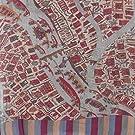 Srinagar Map Wool Scarf by Good Earth