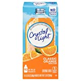 Crystal Light Drink Mix, Classic Orange With Vitamin C & Calcium, On The Go Packets, 10 Count (Pack of 6 Boxes) (Tamaño: 1.3 Ounces)