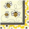 Unique Bumble Bee Luncheon Napkins (1…