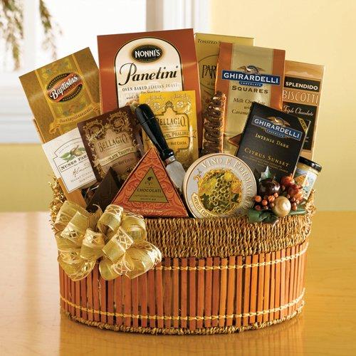 The Gold Standard Gourmet Foods Gift Basket | Christmas Gift Basket